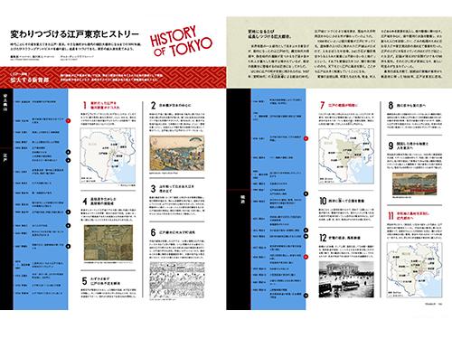 地図でたどる<br/>江戸東京ヒストリー<br/>【51号 東京を時空旅行!】