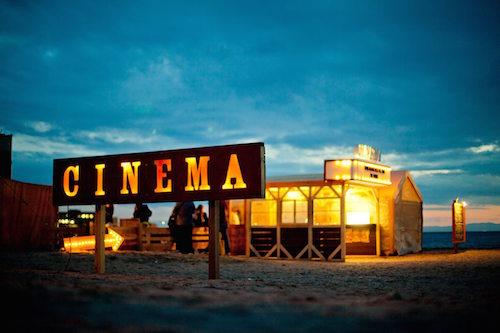 海辺に映画館が現れる!<br>逗子海岸映画祭にTRANSIT出店!