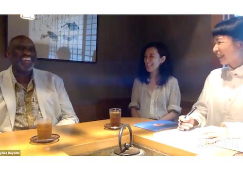 ▶︎インタビュー<br/> 「外から見る京都、内から見る京都」 <br/>稲岡亜里子さん×ウスビ・サコさん×林編集長<br/>【52号 小さな京都の物語を旅して】