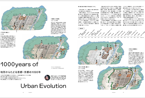 京都ってなんだ? ー歴史編ー<br/>地形からたどる首都・京都の1000年<br/>【52号 小さな京都の物語を旅して】