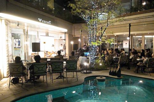 トーク&ライブショー@cocoti終了!<br>幻想的な夜の宴